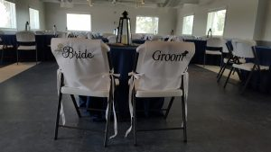 Dedicated seating for the bride and groom